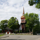Iglesia de Habo, Suecia