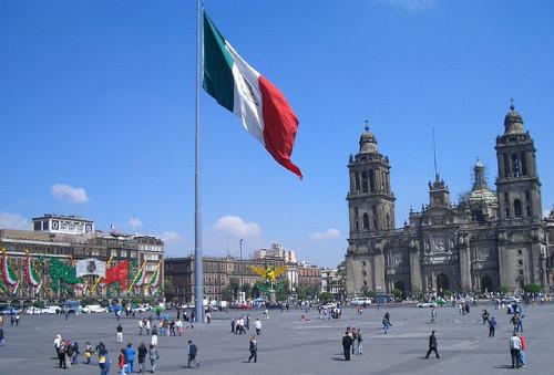 plaza constitucion mexico df