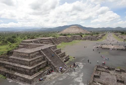 teotihuacan desde piramide luna
