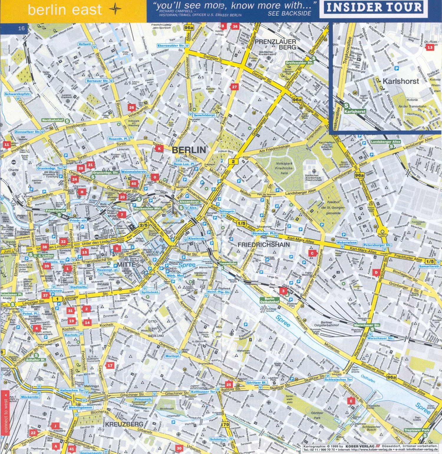 Mapas de Ciudades Europeas  Planos Tursticos de Ciudades de Europa